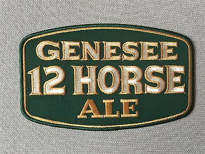 "GENESEE 12 HORSE ALE 8"" by 5"" PATCH"