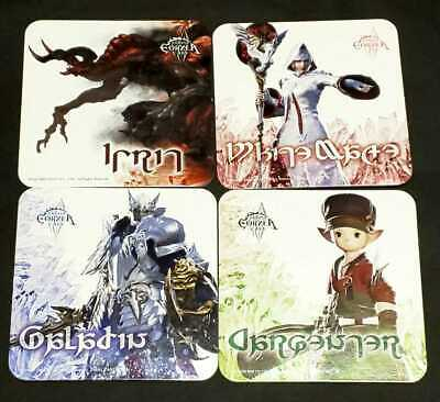 Ff14 Eorzea Cafe Coaster Ifrit White Mage Paladin Carpenter Final Fantasy 14 Eo
