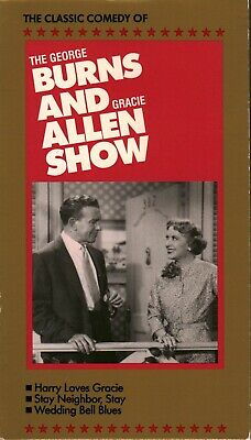 The Classic Comedy of: Burns and Allen Show (VHS, Harry Loves Gracie & More)