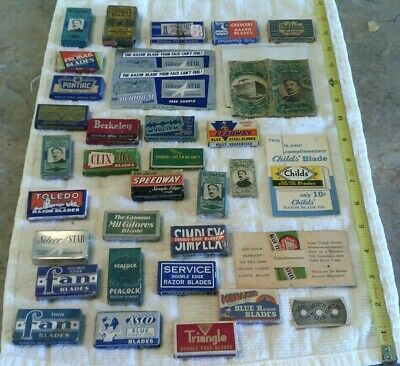 Vintage Shaving Items, Large Mixed Lot (G)
