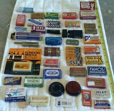 Vintage Shaving Items, Large Mixed Lot (H)