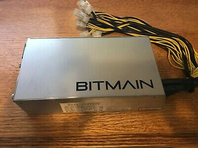 1600W APW3++ PSU Bitmain Antminer Bitcoin Miners S9 S7 L3+ D3 W Power Supply USA