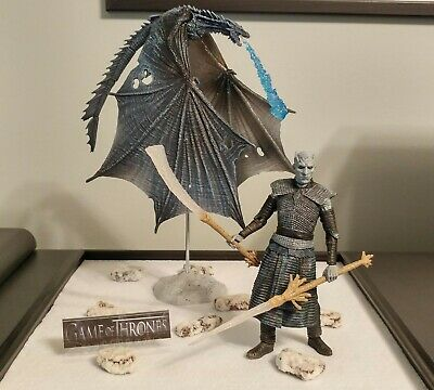 McFarlane Game Of Thrones Night King & Viserion Ice Dragon