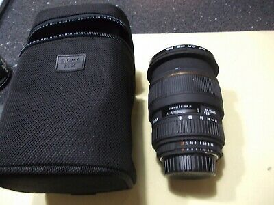 Nikon Fit Sigma AF Zoom 24-70mm f2.8 EX DG MACRO Lens with Case