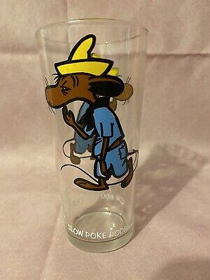 1973 Pepsi Collector Series Looney Tunes Glass Tumbler Slow Poke Rodriguez