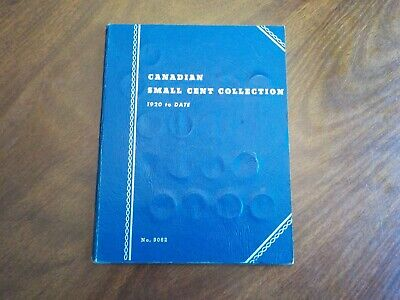 1920 to 1972 - 54 Canadian Small Cents - #9062 Whitman Album - Includes 1924