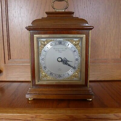 Elliott  Bracket Clock By Garrard & Sons  London Superb Condition