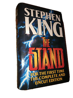 stephen king the stand For The First Time The Complete And Uncut Edition Hardbac