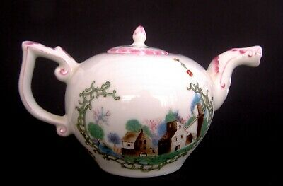 Franklin Mint 'Hochst' Teapot from the V&A Collection 1985