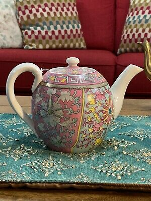 Rare Antique Russian Gardner Porcelain Teapot