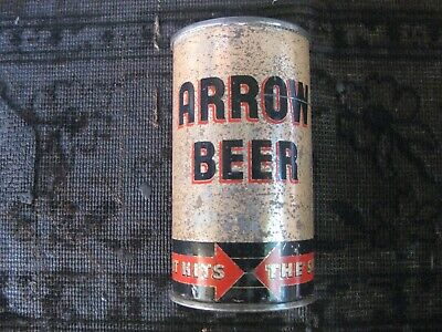 Arrow flat top beer can....Globe Brewing....Baltimore, Maryland