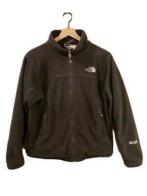 The North Face Women's (L) GORE Windstopper Fleece CHARCOAL GRAY Jacket NICE!!!