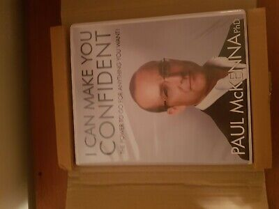 """I CAN MAKE YOU CONFIDENT"" by PAUL McKENNA PhD HUGE 4-CD BOX SET"