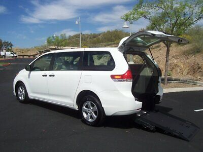 2014 Toyota Sienna Wheelchair Handicap Mobility Van 2014 Toyota Sienna Wheelchair Handicap Mobility Van BELOW COST FREE SHIP
