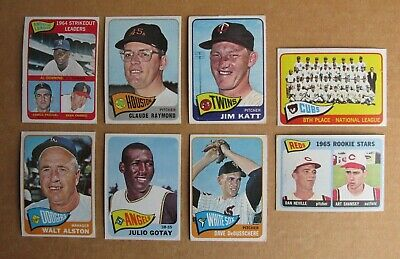 1965 Topps Baseball Singles Complete Your Pick Choose Cards
