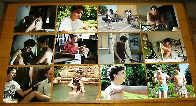 "Call Me By Your Name  2017  Movie Color Photograph Lot (12)  8"" X 10"""