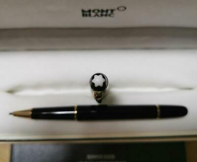 Montblanc Meisterstuck 163 Black and Gold Rollerball Pen Germany - Authentic