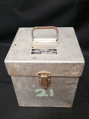 Aluminum Dupont Blasting Box Machine Model CD-32 1960s-70s Mining Equipment