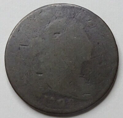 1798 Draped Bust Large Cent - No Reserve!