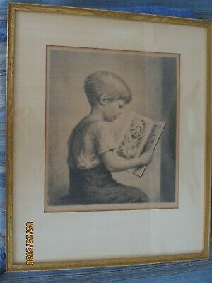Picture Book - A Signed Original Lithograph by James Chapin