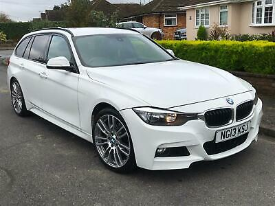 """2013 BMW 320D M Sport Auto Touring - FSH - 19"""" Alloys - Free Delivery!"""