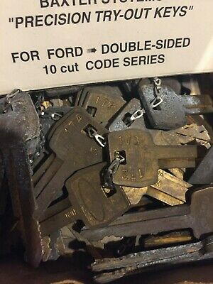 Locksmith tryout keys 10cut