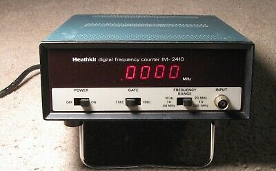 Heathkit IM-2410 frequency counter LED 225 MHz