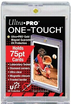 Ultra Pro One Touch 75pt Thick Magnetic Card Holder UV Protection 75 pt point