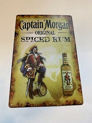 "Captain Morgan ""Got a Little Captain in You?""  Bar Sign Spiced Rum Beer Garage"