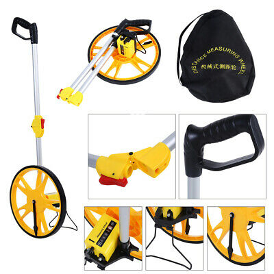 For Surveyors Farmers Builders Road Land TPR Foldable Distance Measuring Wheel