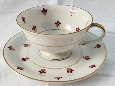 Vintage Eschenbach Baronet China Jacquette Cup and Saucer