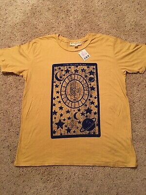 NWT Urban Outfitters Let The Stars Guide The Way Women's T-Shirt Originally $34