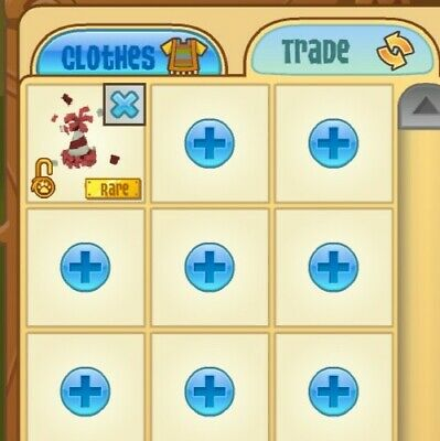 Animal Jam rare red party hat