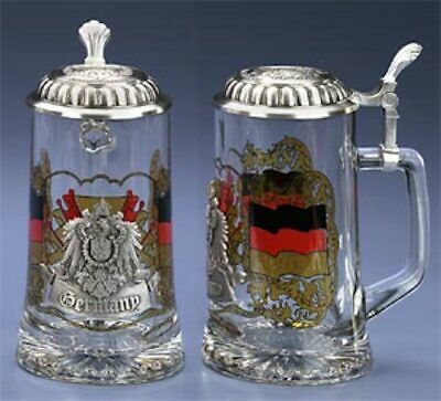 Germany Glass Beer Stein