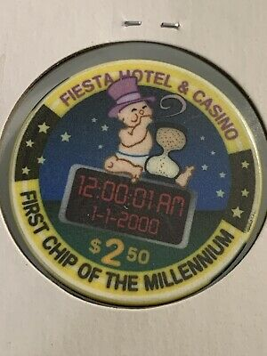 FIESTA $2.50 Casino Chip Las Vegas Nevada 3.99 Shipping