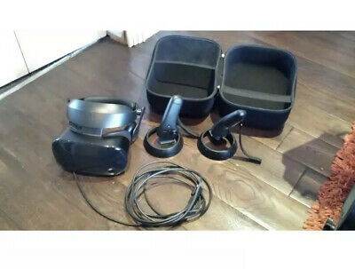 Samsung HMD Odyssey VR Mixed Reality Headset, with controllers and VR case