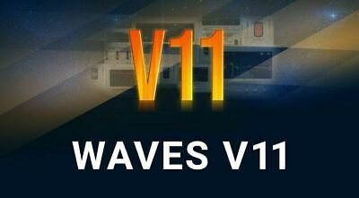 Waves V11 2020 All Plugins Bundles contain all plugins vst music waves11 for Daw