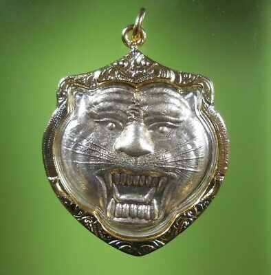 Real! Lp Pern Old Thai Buddha Amulet Siam Pendant Very Rare!!!
