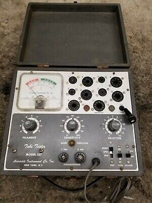 Accurate Instrument Tube Tester - Model 157