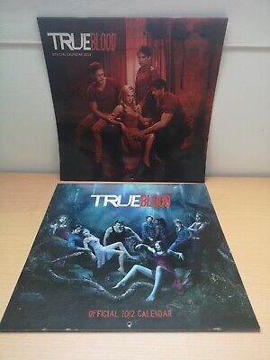 Official True Blood 2012 And 2013 Square Calendars