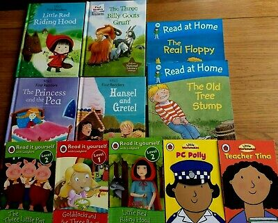 Children reading books Early readers & First readers