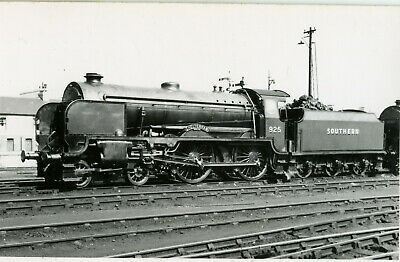 Railway Steam Photograph   Southern Rly  925 at Dover