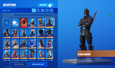 🔥 Fortnite BLACK KNIGHT GHOUL TROOPER ACCOUNT full access | RAFFLE |