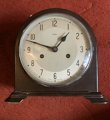 Smiths Enfield Bakelite 8 Day Mantle Clock