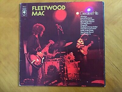 Fleetwood Mac - Greatest Hits. Vinyl  LP. Original Group With Peter Green.