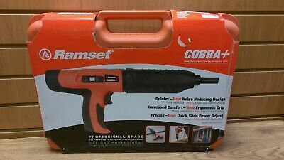 Ramset Cobra Plus + Cobra+ Powder Actuated Fastener Gun 27 Caliber Tool **NEW**