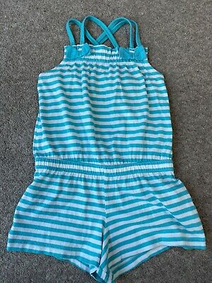 Marks And Spencer Girls  Playsuit. Age 3-4 Years. Immaculate Condition
