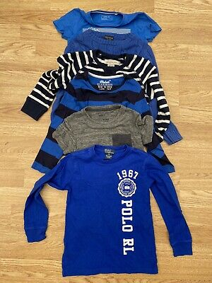 Next/Polo/H&M/Primark Boys Tops/Jumper Bundle Size 5-6 Years Old