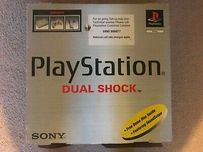 Sony PlayStation Launch Edition Gray Console in good condition