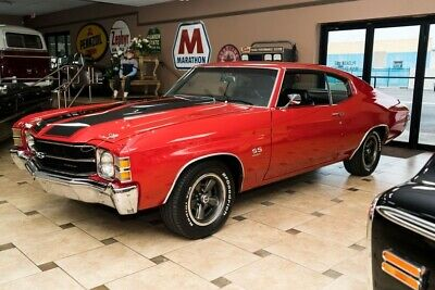 1971 Chevrolet Chevelle SS454 1971 Chevrolet Chevelle SS454 Cranberry Red